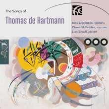 "Thomas de Hartmann (1885-1956): Lieder ""Songs"", CD"