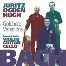 Johann Sebastian Bach (1685-1750): Goldberg-Variationen BWV 988 für Violine,Gitarre,Cello, CD