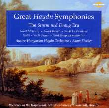 Joseph Haydn (1732-1809): Symphonien Nr.43,44,49,52,59,64, 2 CDs