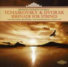 Peter Iljitsch Tschaikowsky (1840-1893): Serenade für Streicher op.48, CD