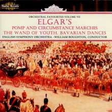 Edward Elgar (1857-1934): Pomp and Circumstance Marches Nr.1-5, CD