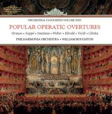 Philharmonia Orchestra - Popular Operatic Overtures, CD