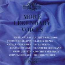 More Legendary Voices, CD