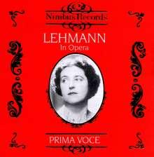 Lotte Lehmann in Opera Vol.1, CD