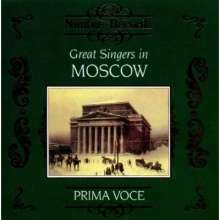 Great Singers in Moscow, CD