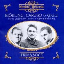 Björling, Caruso & Gigli, CD