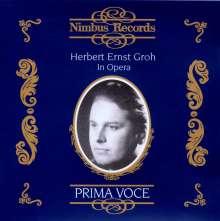 Herbert Ernst Groh in Opera, CD