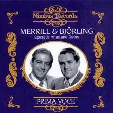 Merrill & Björling - Arien & Duette, CD