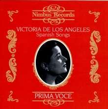 Victoria de los Angeles  - Spanish Songs, CD