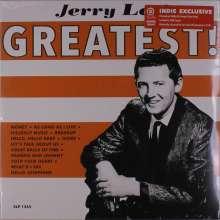 Jerry Lee Lewis: Jerry Lee's Greatest (Limited Edition) (White & Orange Vinyl), LP