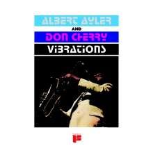 Albert Ayler & Don Cherry: Vibrations (remastered) (Limited-Edition) (Turquoise Swirl Vinyl), LP