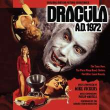 Mike Vickers: Filmmusik: Dracula 1972, CD