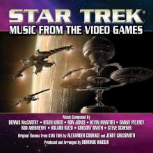 Filmmusik: Star Trek: Music From The Video Games (Limited-Edition), CD
