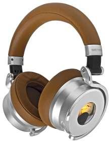 Meters M-OV-1 Tan - Ausführung Braun/Silber, Over-Ear mit Rauschunterdrückung, Kabelgebunden mit Mikrofon, CD