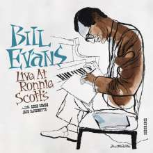 Bill Evans (Piano) (1929-1980): Live At Ronnie Scotts (180g) (Limited Handnumbered Deluxe Edition), 2 LPs