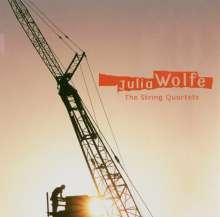 Julia Wolfe (geb. 1959): Streichquartette, CD