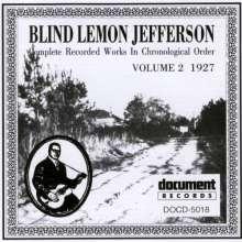 """Blind"" Lemon Jefferson: Complete Recorded Works Vol.2, CD"