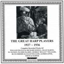 Great Harp Players: Great Harp Players 1927-1936 / Various, CD