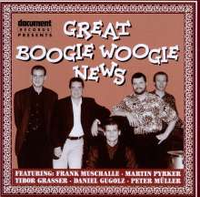 Muschalle / Pyrker / Grasser / Gugolz / Müller: Great Boogie Woogie News, CD
