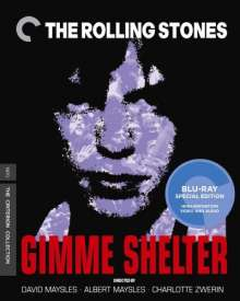 The Rolling Stones: Gimme Shelter (Special Edition) (Ländercode A), Blu-ray Disc