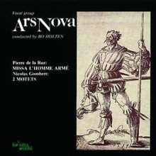 Pierre de la Rue (1460-1518): Missa l'homme arme, CD