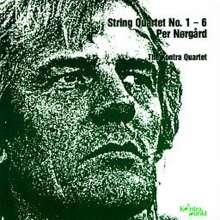 Per Nörgard (geb. 1932): Streichquartette Nr.1-6, CD