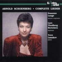 Arnold Schönberg (1874-1951): Lieder, 3 CDs