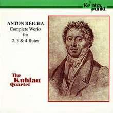 Anton Reicha (1770-1836): Die Werke f.2,3 & 4 Flöten, CD