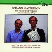 Johann Mattheson (1681-1764): 12 Kammersonaten f.Flöte & Cembalo, 2 CDs