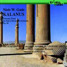 Niels Wilhelm Gade (1817-1890): Kalanus op.48 (Dramatische Dichtung), CD