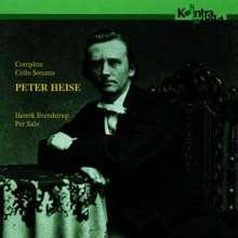 Peter Heise (1830-1879): Sonaten f.Cello & Klavier in a,F,a, CD