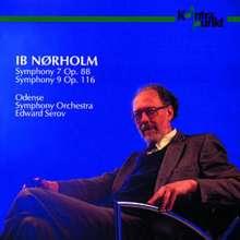 Ib Nörholm (1931-2019): Symphonien Nr.7 & 9, CD