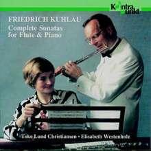 Friedrich Kuhlau (1786-1832): Sonaten für Flöte & Klavier, 3 CDs