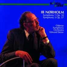 Ib Nörholm (1931-2019): Symphonien Nr.1 & 3, CD