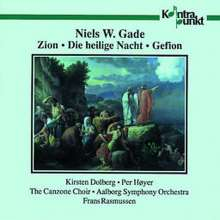 Niels Wilhelm Gade (1817-1890): Zion op.49, CD