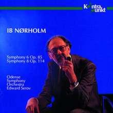 Ib Nörholm (1931-2019): Symphonien Nr.6 & 8, CD