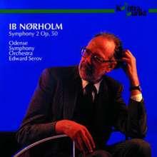 "Ib Nörholm (1931-2019): Symphonie Nr.2 ""Isola Bella"", CD"