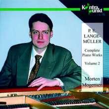 Peter Erasmus Lange-Müller (1850-1926): Klavierwerke Vol.2, CD