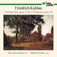 Friedrich Kuhlau (1786-1832): Musik für Flöte & Klavier, CD