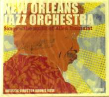 New Orleans Jazz Orchestra: Songs: The Music Of Allen Toussaint, CD