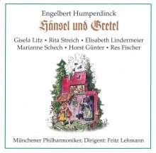 Engelbert Humperdinck (1854-1921): Hänsel & Gretel, 2 CDs