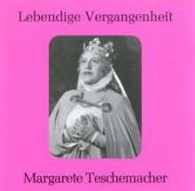 Margarete Teschemacher singt Arien & Lieder, CD