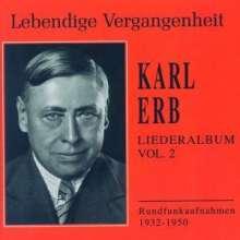 Karl Erb - Liederalbum II, 2 CDs