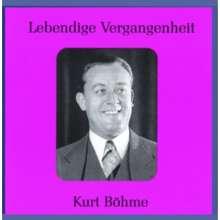 Kurt Böhme singt Arien & Lieder, CD