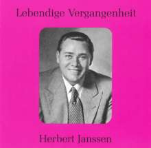 Herbert Janssen singt Arien, CD