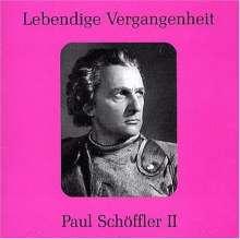 Paul Schöffler singt Arien, CD