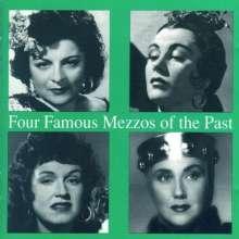 4 Famous Mezzos of the Past, CD