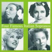 4 Famous Italian Sopranos, CD