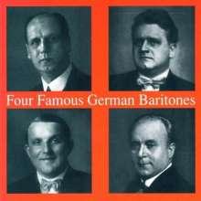 4 Famous German Baritones, CD