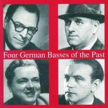 4 German Basses of the Past, CD